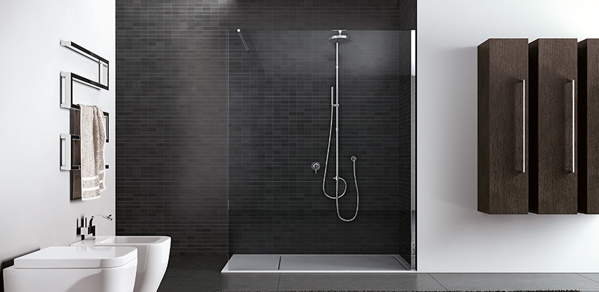 bien choisir une paroi de douche italienne. Black Bedroom Furniture Sets. Home Design Ideas