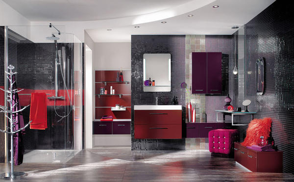 mod les de douche l 39 italienne. Black Bedroom Furniture Sets. Home Design Ideas